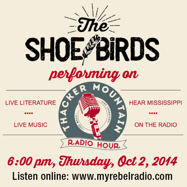 The Shoe Birds live at Thacker Mountain Radio