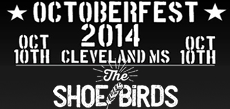 The Shoe Birds Live at Octoberfest – Cleveland, MS